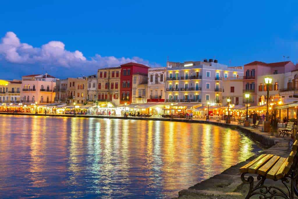 Crete is a popular destination for partying