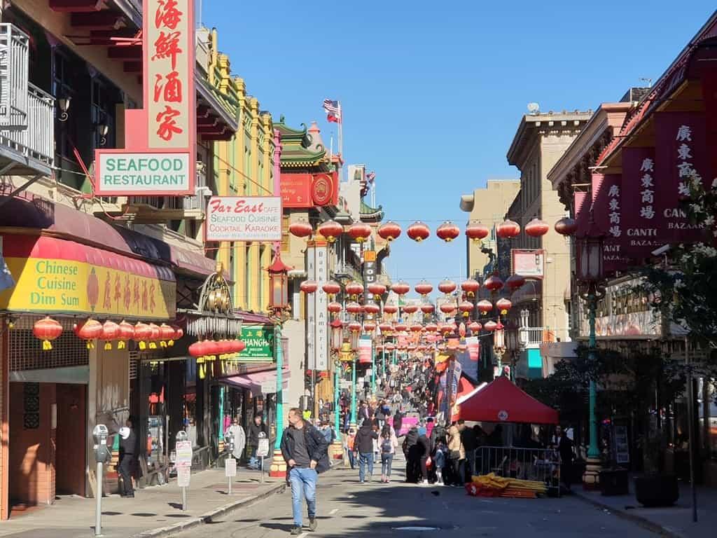Chinatown - 4 day San Francisco itinerary