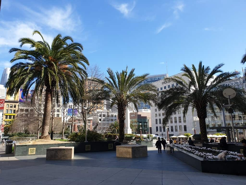 Union Square - Four days in San Francisco