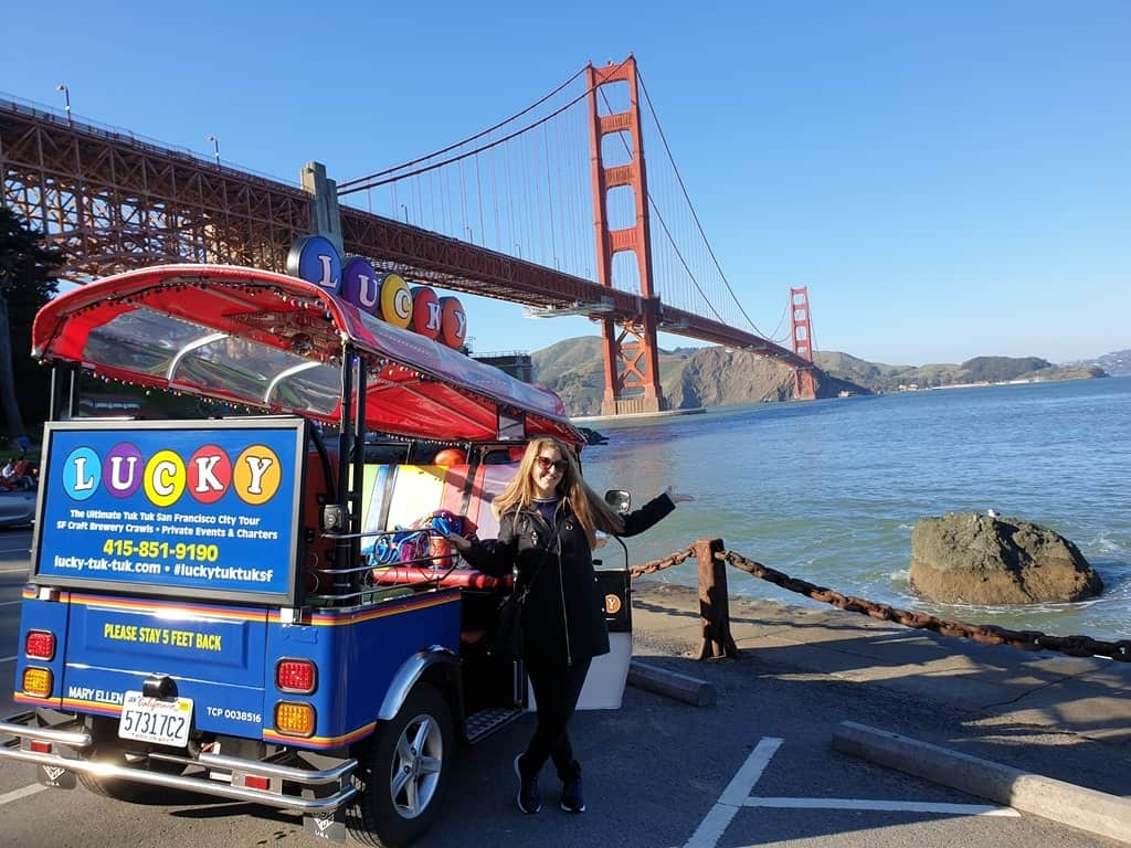 Tuk Tuk tour in San Francsco - 4 days in San Francisco